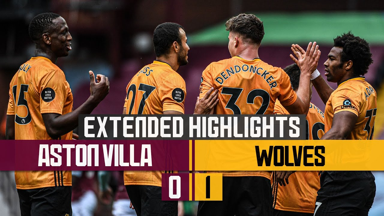 THREE WINS IN A WEEK | Aston Villa 0-1 Wolves | Extended highlights