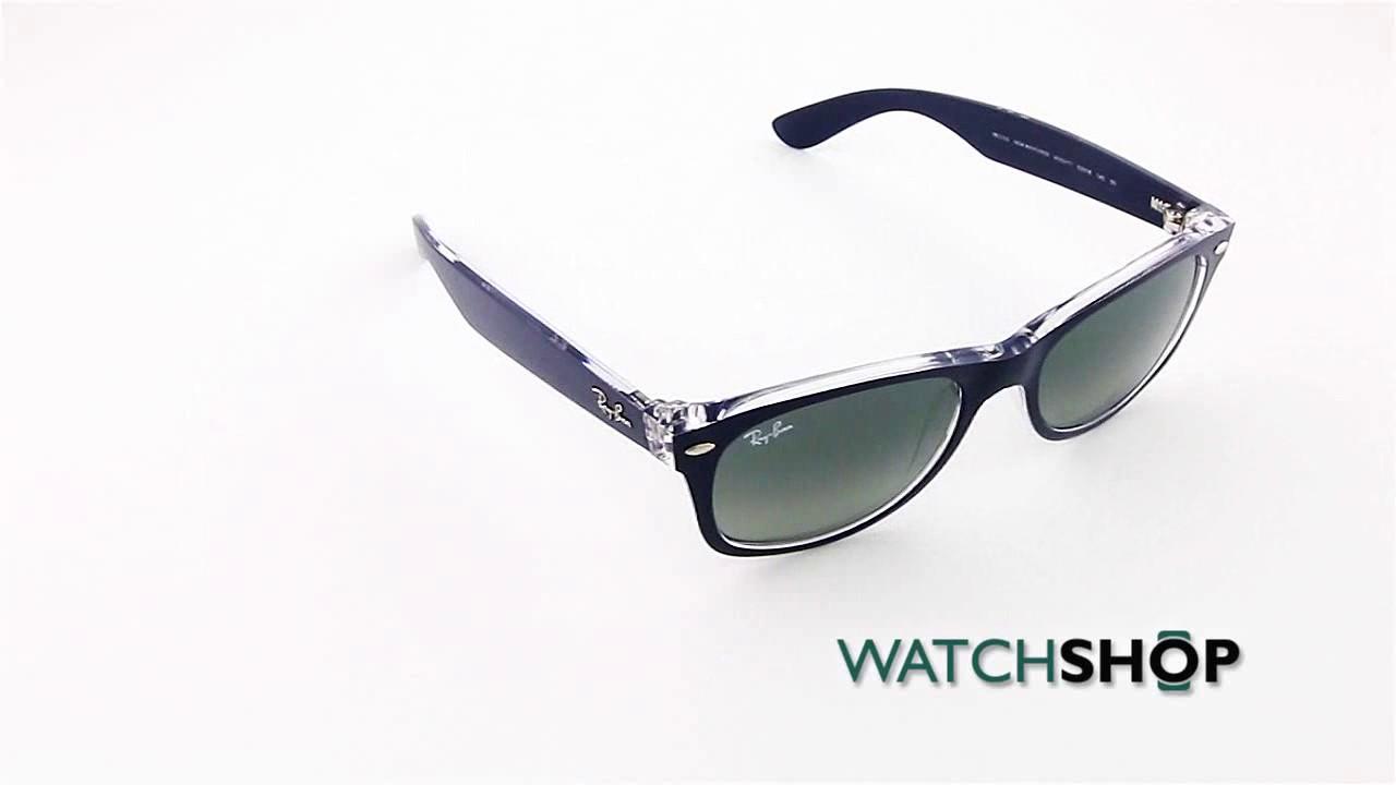 92116887d1 Ray-Ban Men s New Wayfarer Classic Sunglasses (RB2132-605371-52 ...