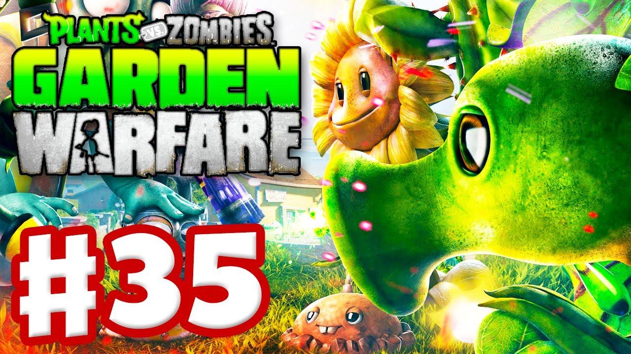 Plants Vs Zombies Garden Warfare Gameplay Walkthrough Part 35 Toxic Pea Xbox One Youtube