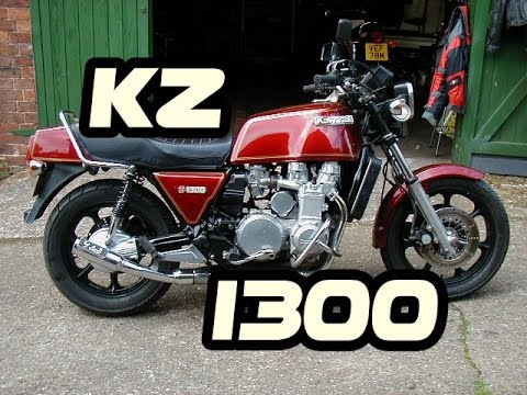 KAWASAKI KZ 1300 - 6 CILINDROS - RONCO ESPETACULAR
