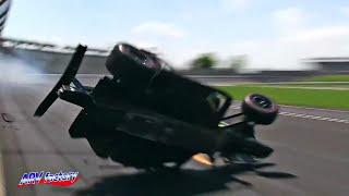 James Hinchcliffe Crash 2019 Indy 500 Qualifying