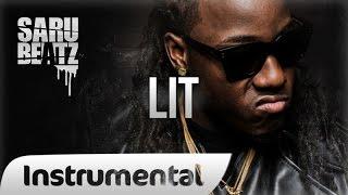 "Hard Trap Beat Gangsta Rap Instrumental ""Lit"" - SaruBeatz"