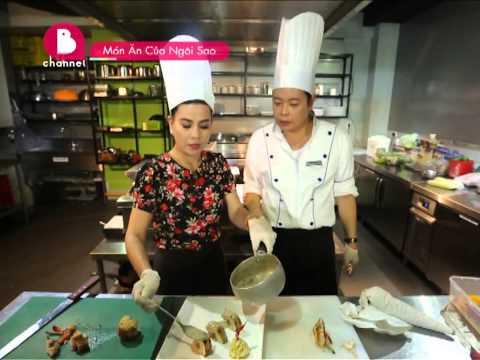 Món Ăn Của Ngôi Sao: Diễn viên Cát Phượng vào bếp với món Gà cuộn rau củ sốt nấm