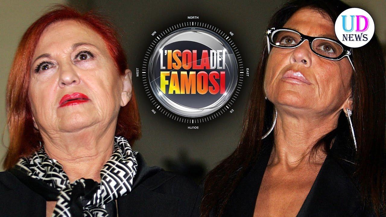 Isola Dei Famosi 2017 Wanna Marchi E Stefania Nobile