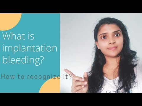 What is Implantation bleeding?/implantation Bleeding कैसे पेहचाने?/Implantation bleeding signs