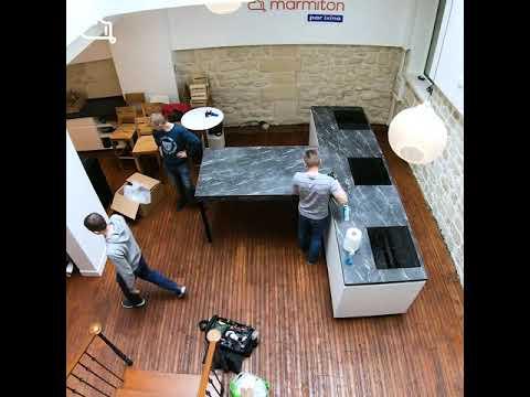 Kitchen Tour Ixina X Marmiton Youtube