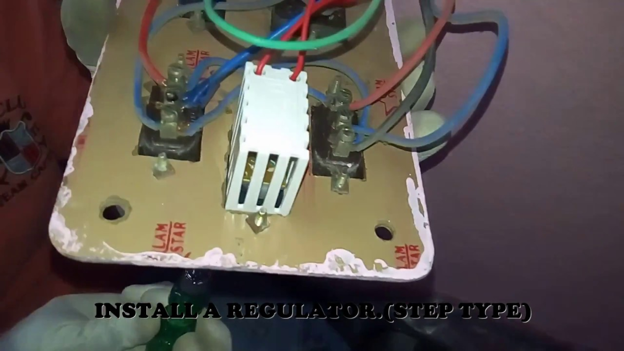 how to install fan regulator in 2 way switches [ 1280 x 720 Pixel ]