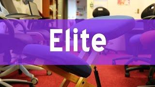 Elite Heavy Duty Wooden Kneeling Stool - Bad Back Chair