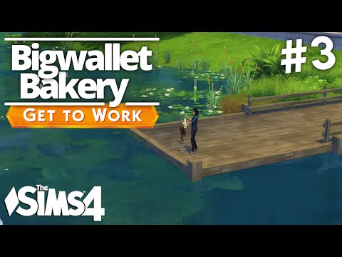 The Sims 4 Get To Work - Bigwallet Bakery - Part 3