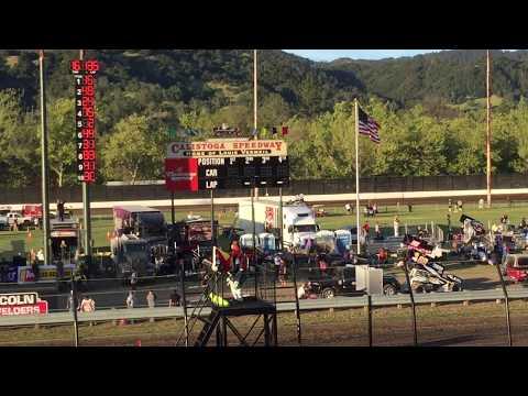 Rico Abreu Qualifying at Calistoga Speedway