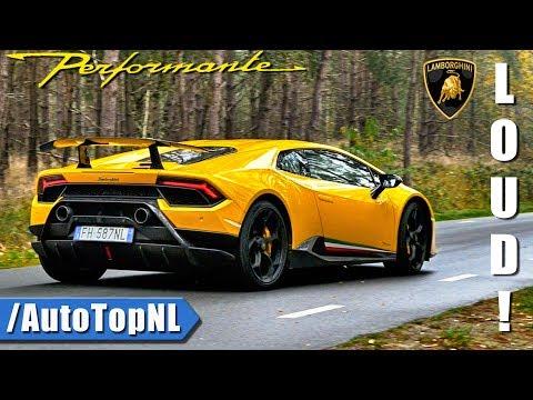 Lamborghini Huracan Performante LOOKS SOUND & DRIVE By AutoTopNL