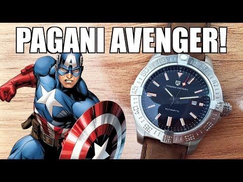 """Pagani Design """"Avenger Seawolf"""" Automatic Watch Review (1627M) - Perth WAtch #282"""