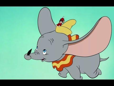 Слоненок дамбо мультфильм