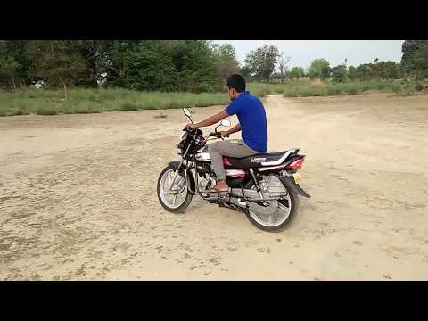 NEW HERO HF DELUXE 2019 SELF FULL REVIEW TEST DRIVE TOP SPEED SPECIFICATIONS FEATURES PRICE DETAILS