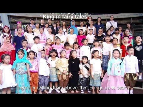 """King in fairy tales"" Version English【OFFICIAL MV】| Sathira-Dhammasathan พระราชาในนิทานภาษาอังกฤษ"