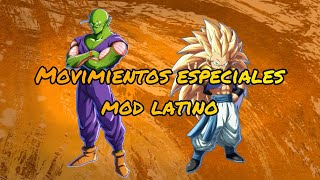Piccolo y Gotenks Movimientos especiales mod latino