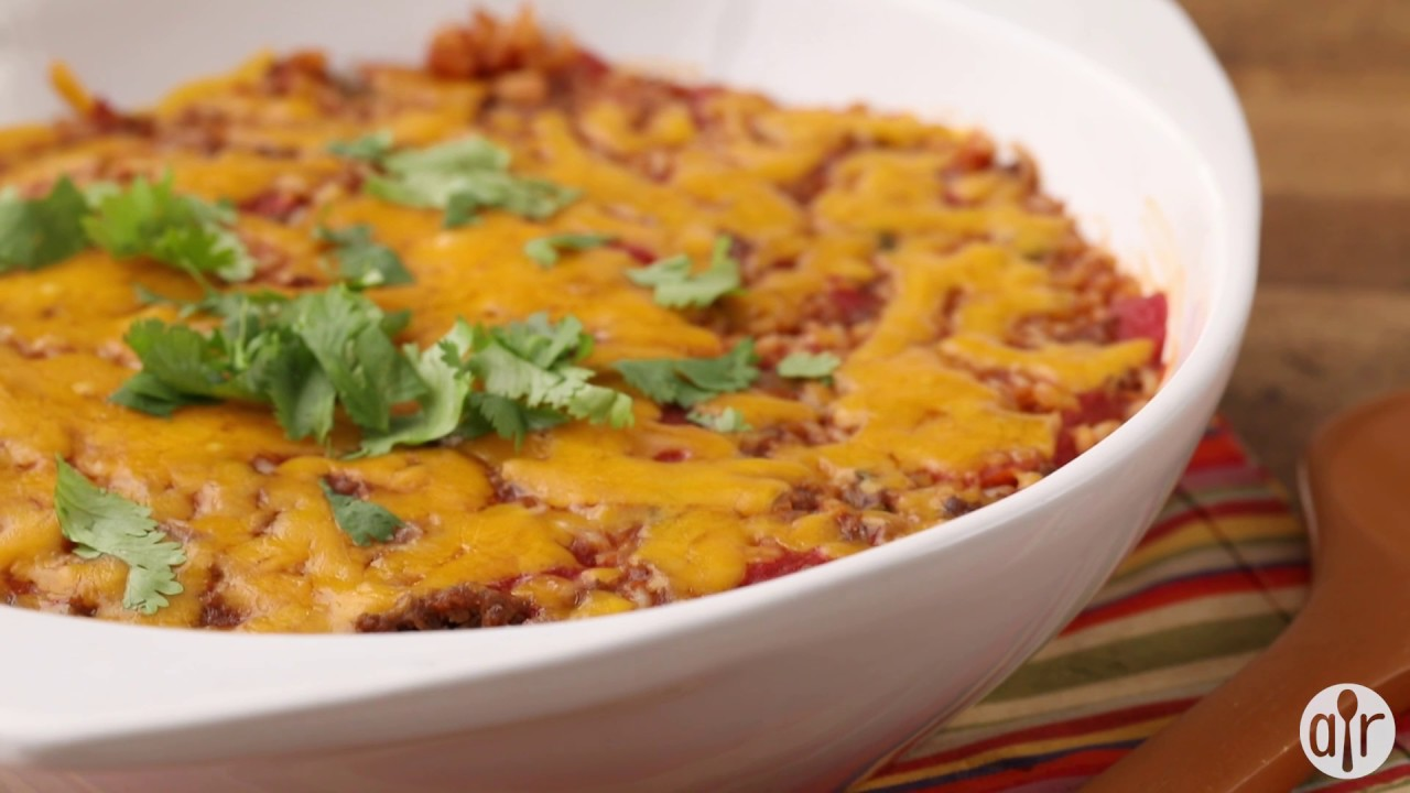 How to Make Spanish Rice Bake   Dinner Recipes   Allrecipes.com - YouTube