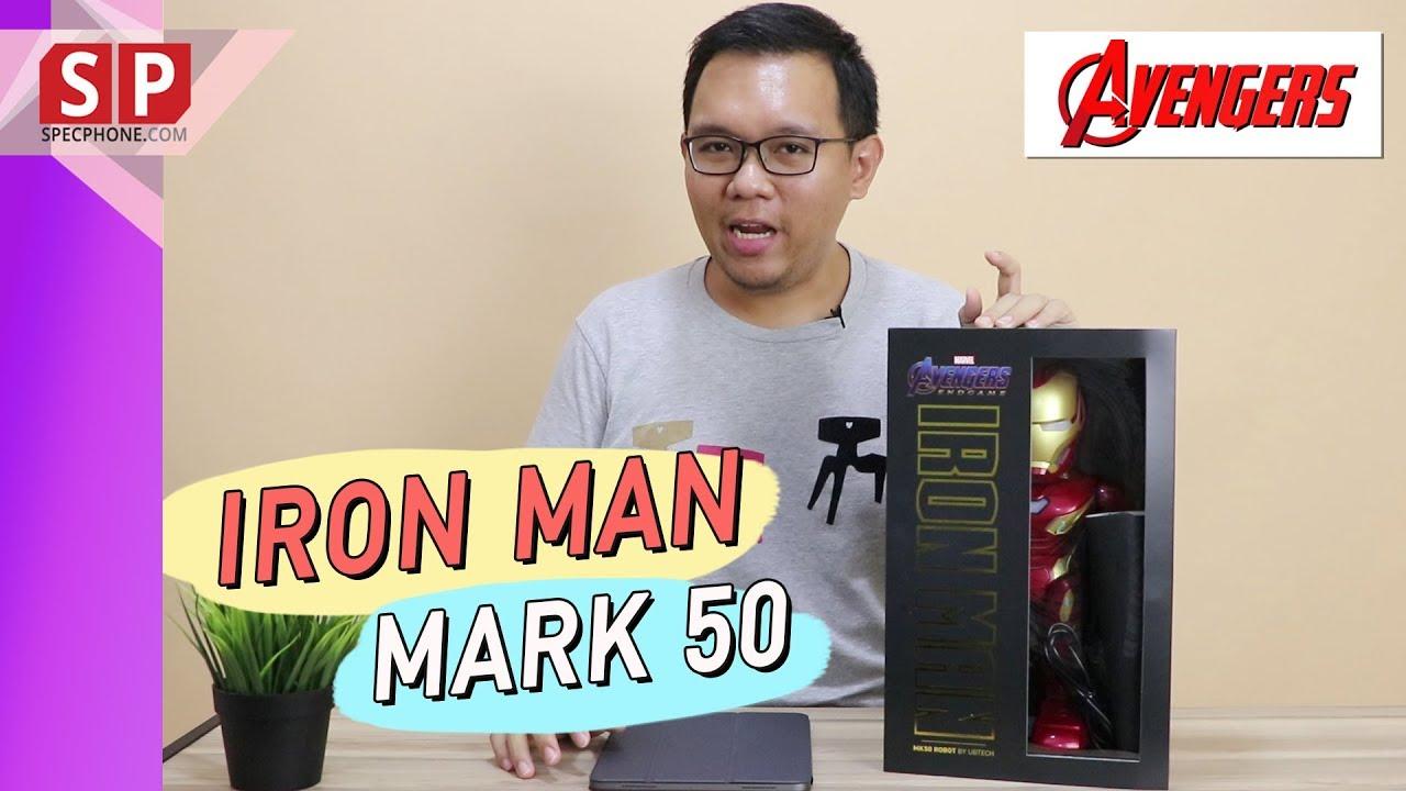 รีวิว UBTECH Robotics : Iron Man MK50 หุ่นบังคับไอออนแมน เดินได้ พูดได้ เล่นเกมได้ | ราคา 9,900 บาท