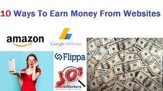 10 ways to earn money from website ...
