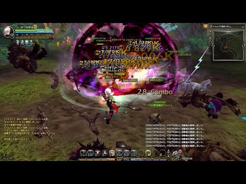 Dragon Nest Bleed Phantom Solo Gameplay Level 95