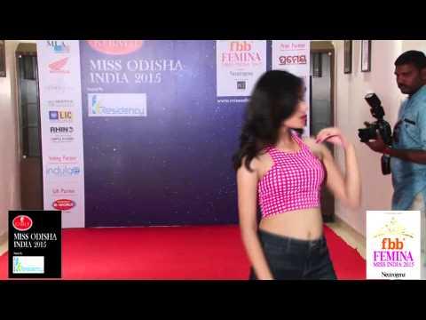 Miss Odisha India 2015 - Talent Round - Priyanka Kumari.