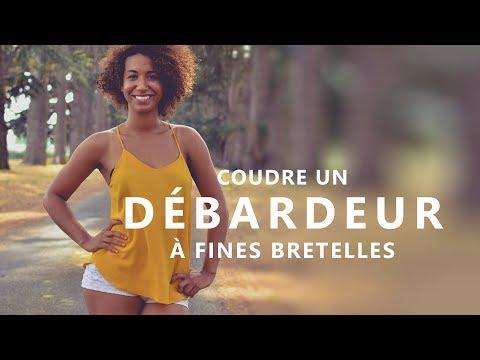 COUDRE UN DÉBARDEUR À FINES BRETELLES -CARACO- TUTO FACILE et SANS PATRON