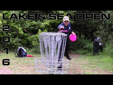 2016 Lake and Sea Open MPO Final Round (Crabtree, Waugh, Fry) Disc Golf