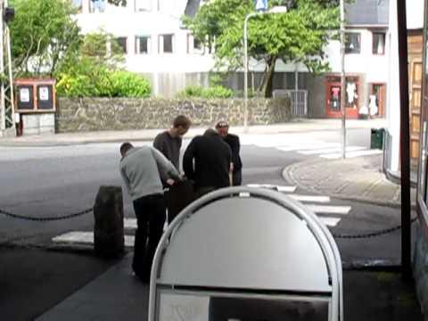 Preparing for the G-festival in the Faroe islands