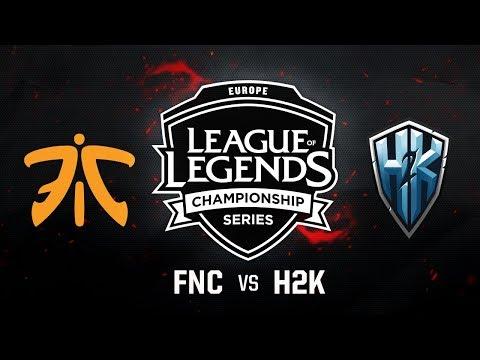 Fnatic vs. H2K | EU LCS Summer Regional Qualifier|Game 3 | FNC vs. H2K (2017)