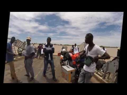 Viaje Melilla Dakar en moto