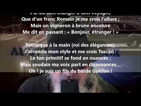 Les dissonances - Auguste Brizeux lu par Yvon Jean