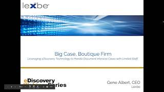 Big Case Boutique Firm
