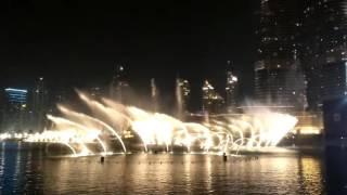 Dubai Musical Fountain Show