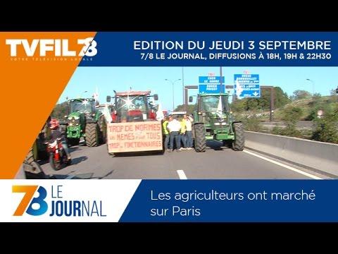 7/8 Le journal – Edition du jeudi 3 septembre 2015