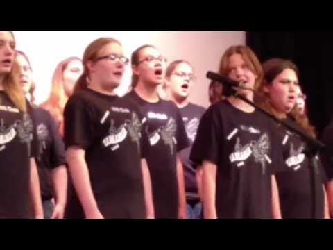 Ionia middle school last choir concert