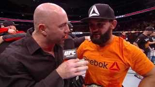 UFC 171: Johny Hendricks Octagon Interview
