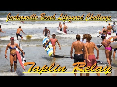 24th Annual Jacksonville Beach Lifeguard Challenge / Taplin Relay