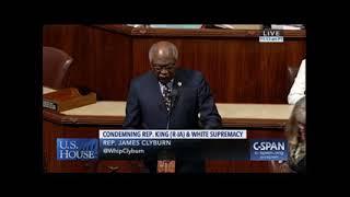 Majority Whip Clyburn Floor Statement Condemning White Supremacy & White Nationalism