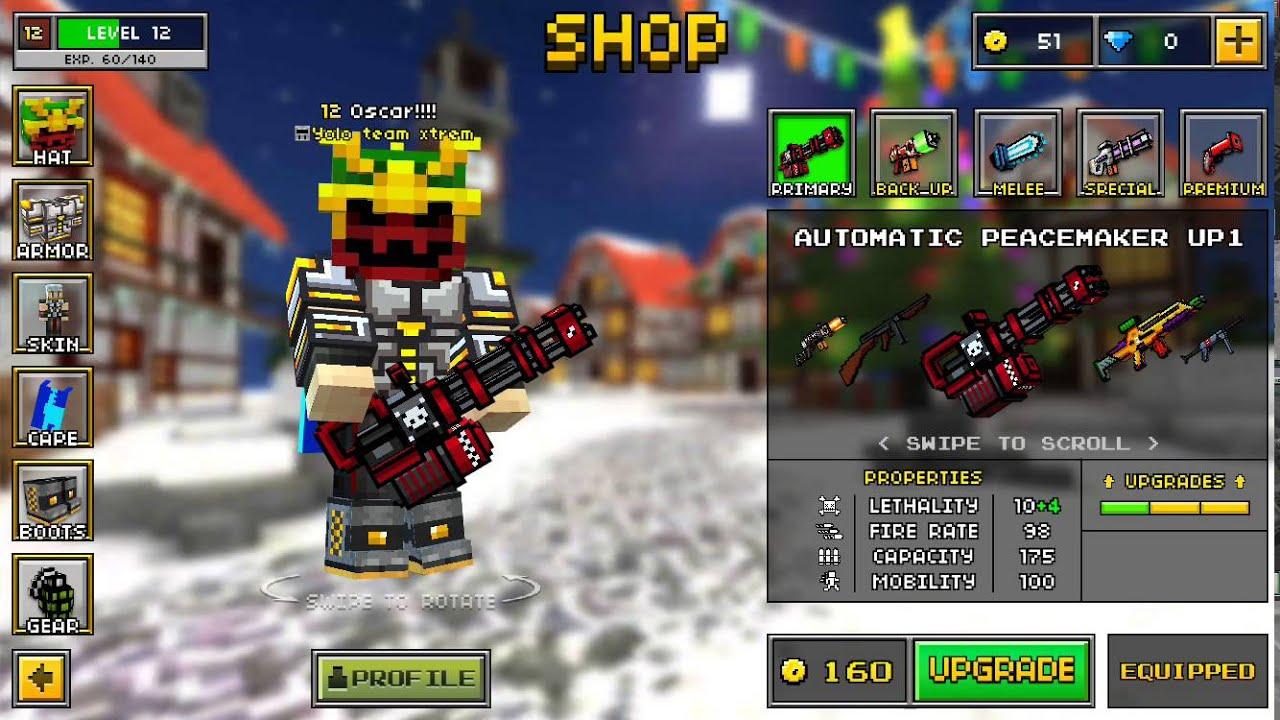 pixel gun 3d easy way to get coins
