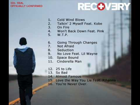 Eminem's 'Recovery' Tracklist - 100% Real