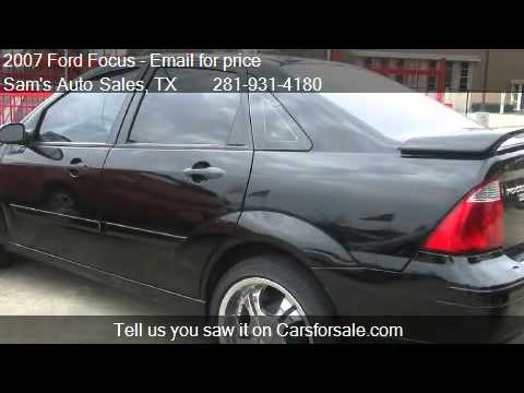 2007 Ford Focus ZX4 SE - for sale in Houston, TX 77076