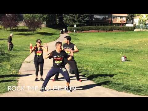 Zumba Fitness Performances with Enoc in Calgary, Alberta, Canada