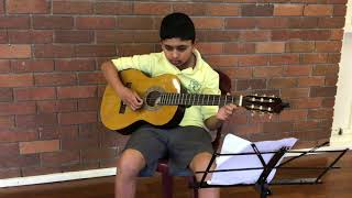 Joshua plays The Night Begins To Shine