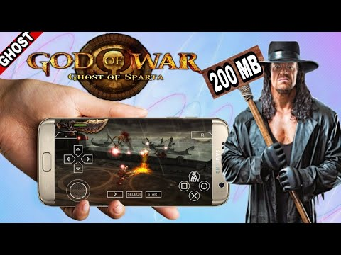 200mb), God of War ghost of Sparta highly compressed