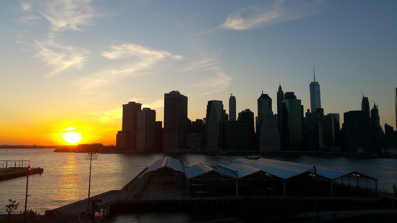 Brooklyn Bridge Park Sunset Images Galleries With A Bite