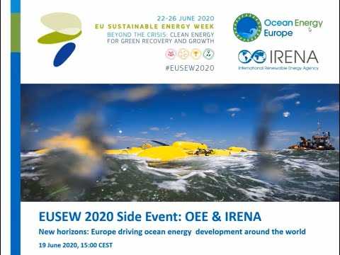 Webinar: New Horizons - Europe driving ocean energy development worldwide