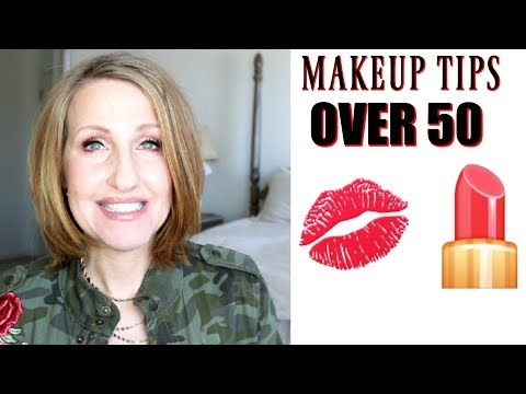 MAKEUP TIPS: MAKEUP TRICKS FOR WOMEN OVER 50