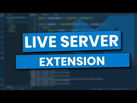Live Server Extension In Visual Studio Code