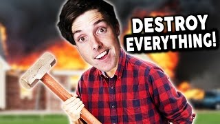 DESTROY EVERYTHING SIMULATOR! - Random Games