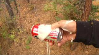How to Shotgun a Beer Using Just Your Thumb
